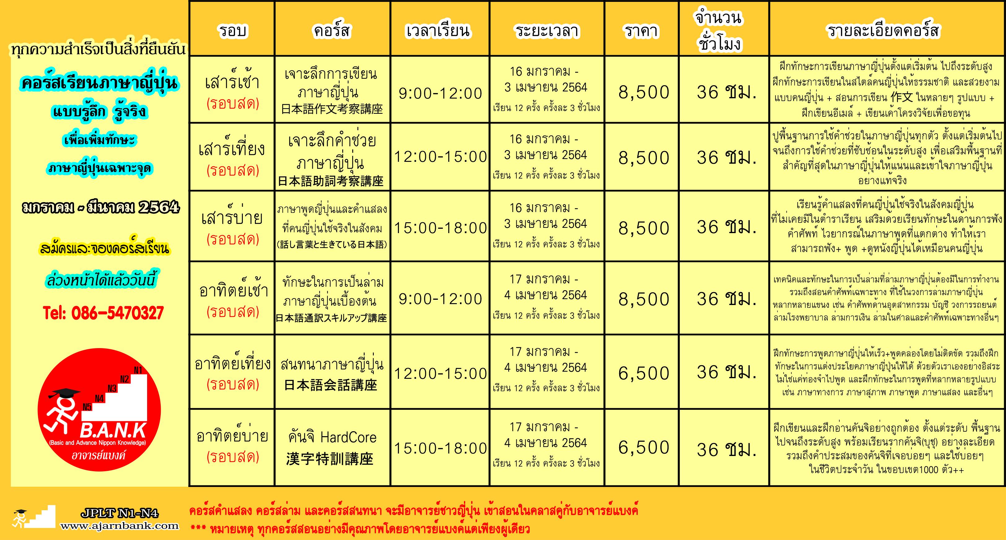 ajarnbank_school_course_2564